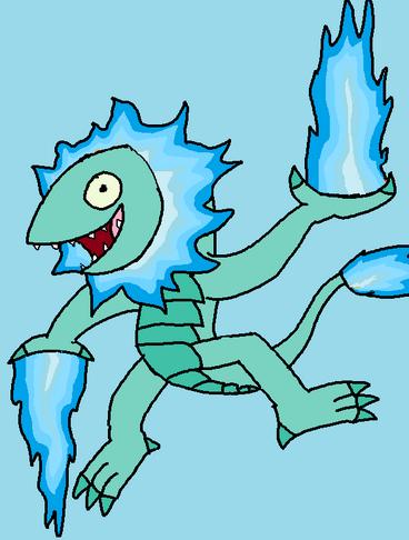 Blue Nova Wildfire