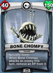 Necrotic Teeth - Special Abilitycard