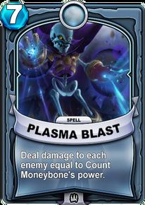 Plasma Blastcard