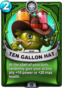 Ten Gallon Hat - Gearcard