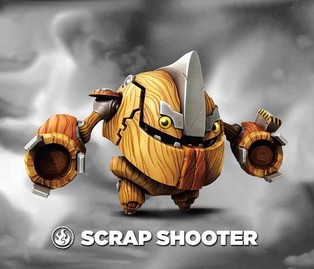 Scrap Shooter Villain Skylanders Wiki Fandom Powered