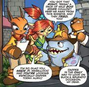 Wheellock comic
