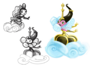 Queen Cumulus concept designs