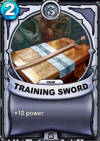 Training Sword - Gearcard