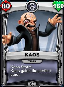 Kaos Storm - Special Abilitycard