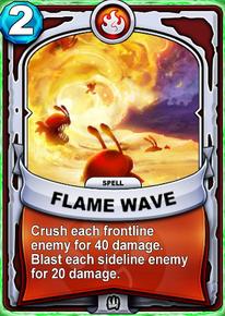 Flame Wavecard