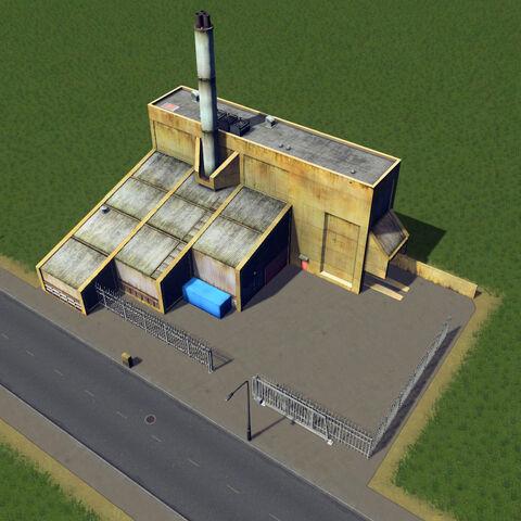 In-game boiler station