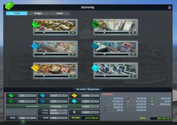 Economy interface
