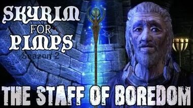 Skyrim For Pimps - The Staff of Boredom (S2E04) College of Winterhold Walkthrough-0