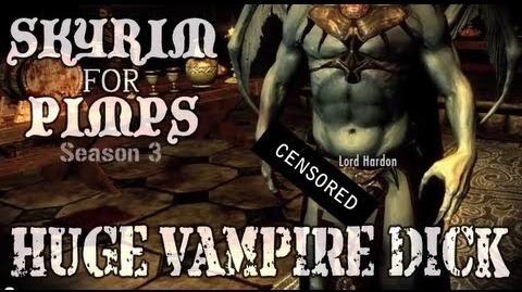 Skyrim For Pimps - Huge Vampire Wang (S3E02) Dawnguard Walkthrough-0