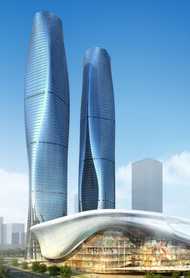 Nanning Center Towers