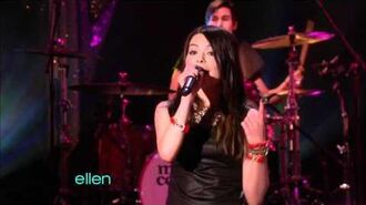 Miranda Cosgrove - Dancing Crazy (Live)