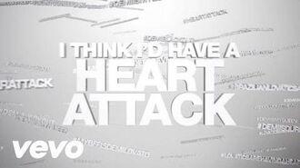 Demi Lovato - Heart Attack (Lyric Video)