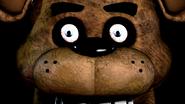 Freddy with Human Eyes on Hallucination