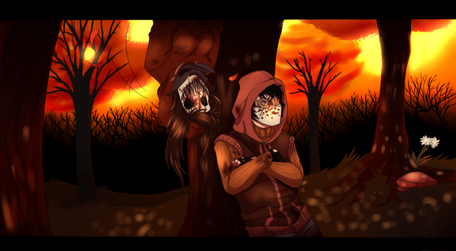 File:The gruesome couple by lazycatlady-d9fvr2b.png