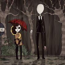 My neighbor slender man by ocene44-d5oruyu