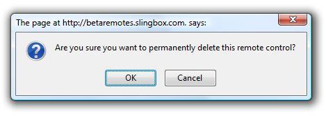 Betaremote-delete
