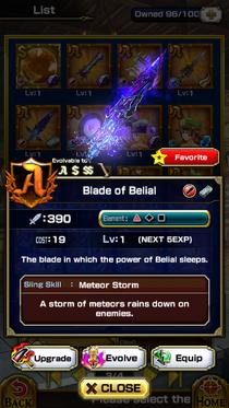 Blade of Belial