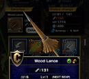 Wood Lance