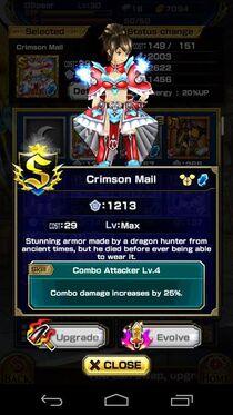 Crimson Mail F