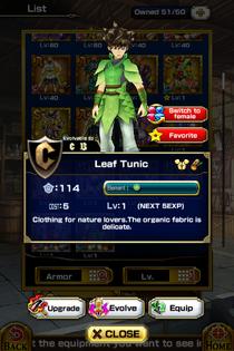 Leaf Tunic M