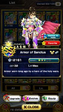 Armor of Sanctus (F)