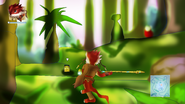 Ophidia screenshot- forest theme
