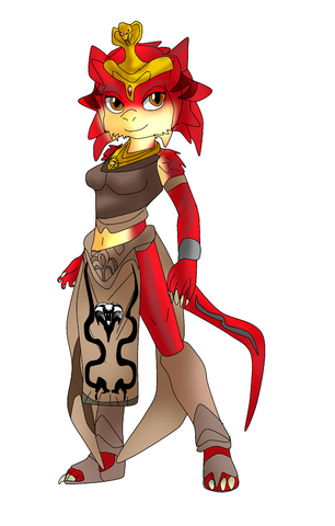 File:Marisa the reptilia- redesigned.png