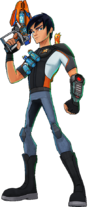 Eli Shane in Slugterra Eastern Caverns