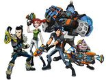 Slugterra Shane Gang including Junjie from the ABC3 page