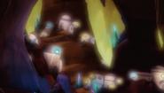 Houses in 'Lumino Cavern'
