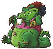 Mz. Ruby the Alligator