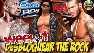 Desbloquear The Rock SvR 2011 Week1