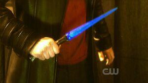 Blue Kryptonite Knife