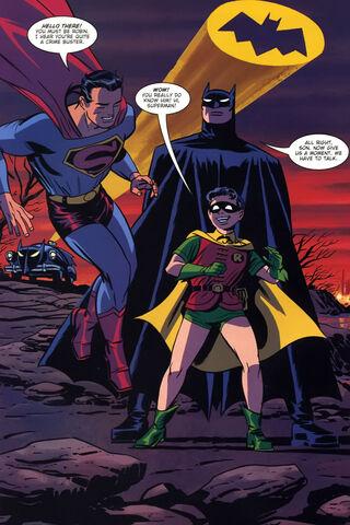 File:Jl trinity Batman's new look and Robin (New Frontier).jpg