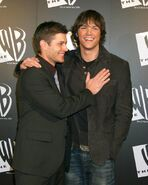 Jensen Ackles and Jared Padalecki