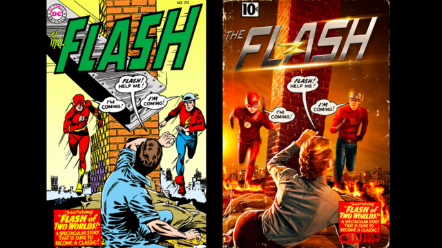 File:The Flash season 2 poster - The Flash of Two Worlds.png