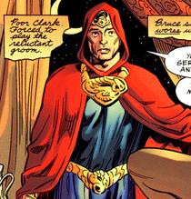 Superman in hoodie