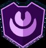 Emblem - Purple Crescents