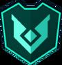 Emblem - Aqua Chevron