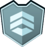 Emblem - Blue Chevrons