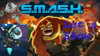SMASH MONSTERS LET´S SHOW BLUE EELECTRICUS