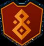 Emblem - Orange Mascles