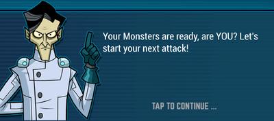 Tutorial Guy - Monsters Ready