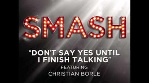 Smash - Don't Say Yes Until I Finish Talking HD Full Studio