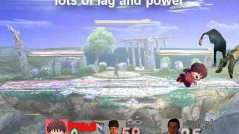 Smash Bros Brawl Character Moveset - Madotsuki