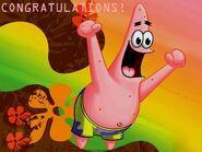 Patrick congratulations