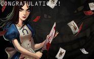 Alice congratulations