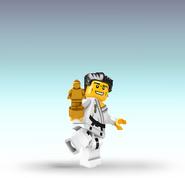 Lego man karate