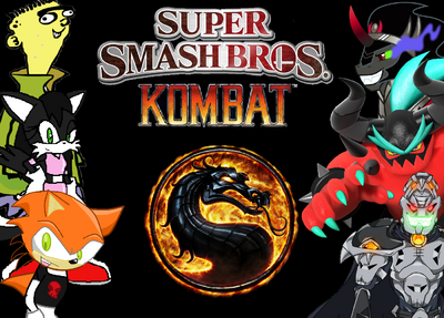 New Super Smash Bros. Kombat Logo